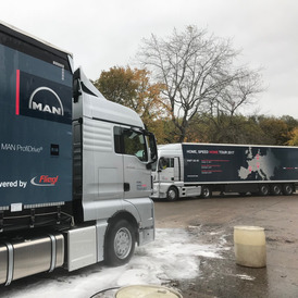 Unit and trailer cleaning Northampton
