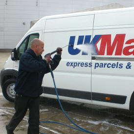 Panel van cleaning Northampton